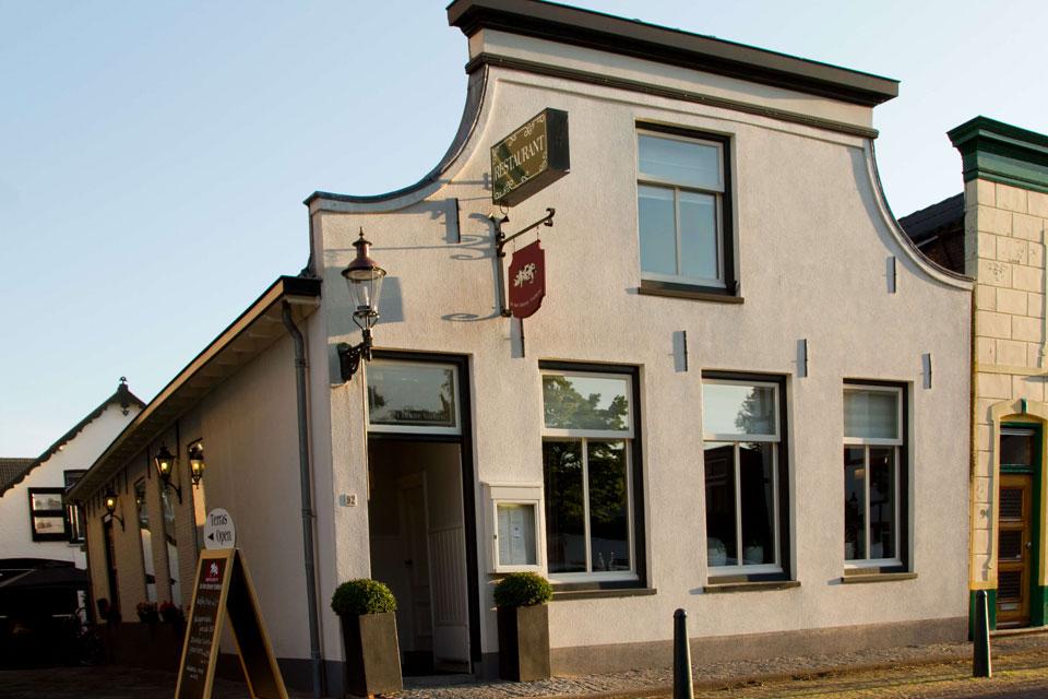 Restaurant 'In het Bonte Varken', kerkstraat 92 in Bodegraven