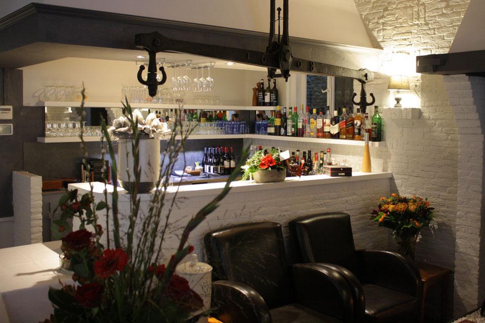 De bar van restaurant 'in het Bonte Varken'