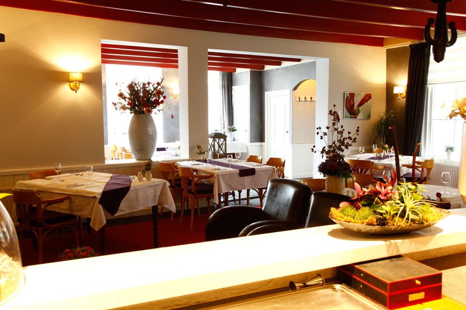 Interieur van restaurant 'In het Bonte Varken'